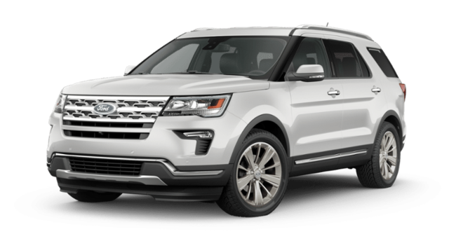 New 2019 Ford Explorer Limited Limited 4WD in Fishers, IN